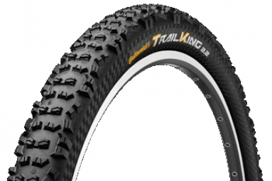 CONTINENTAL 2014 Pneu Trail king Protection 27.5x2.20'' Black Chili Souple