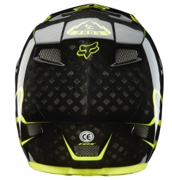 FOX Full Face Helmet 2014 RAMPAGE PRO Carbon Black Yellow