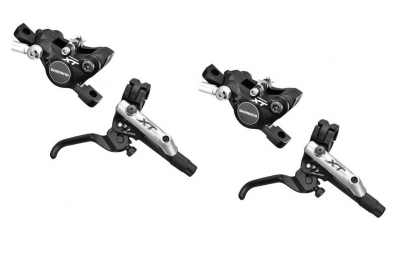 SHIMANO Pair of brakes XT M785 Without Rotor Black