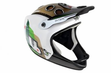 Casque intégral Urge ARCHI ENDURO Blanc Vert