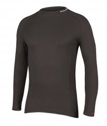 ENDURA Baselayer Long sleeves TRANSRIB Black