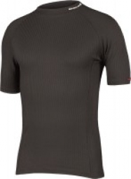 ENDURA Baselayer Short sleeves TRANSRIB Black