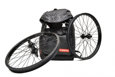 CINEMA Pack Wheelset ZX 2014 RHD Black + Backpack RUCKSACK Black