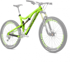 SANTA CRUZ 2014 Frameset Bronson Carbon 27.5'' Fox CTD Kashima 150mm Lime
