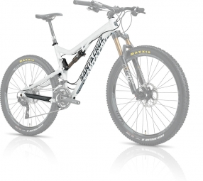 SANTA CRUZ 2014 Frameset 5010 Alloy 27.5'' Fox CTD 125mm White/Grey