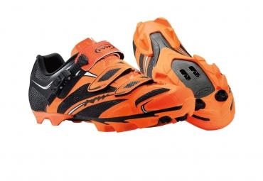 Chaussures VTT Northwave Scorpius Srs Orange fluo