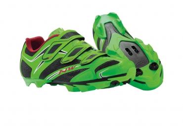 Chaussures VTT Northwave Scorpius 3S Vert fluo
