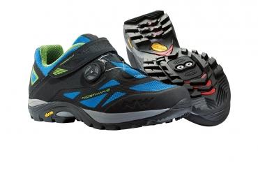 Chaussures VTT Northwave Spider Plus Noir/Bleu