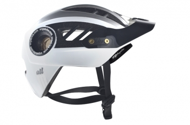 Casque Urge All-M 2014 Blanc Argent