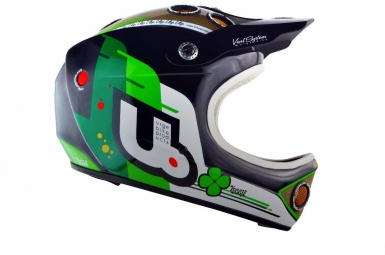 Casco integral Urge DOWN-O-MATIC Negro verde