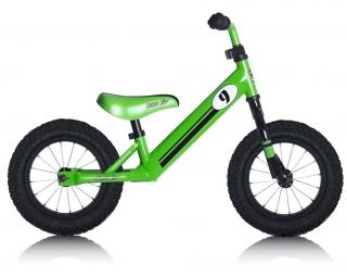 Draisina REBEL KIDZ 12.5'' Air Racing Acciaio Verde da 2 fino a 5 anni