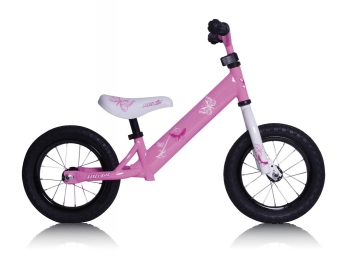 Rebel Kidz Balance Bike Acier AIR 12.5'' Rose