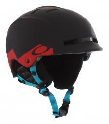 OAKLEY MODULAR SYSTEM HELMET Helmet Red Print
