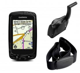 GARMIN GPS EDGE 810 BUNDLE CITY NAVIGATOR (Avec ceinture cardiaque et capteur de cad