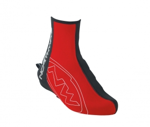 NORTHWAVE Paire de Sur Chaussures FIGHTER Noir Rouge