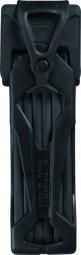 ABUS Antivol BORDO 6000 75cm avec sacoche Noir