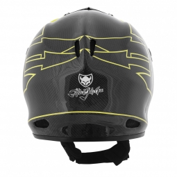 TSG 2013 Full Face Helmet STATEN Carbon Black Yellow
