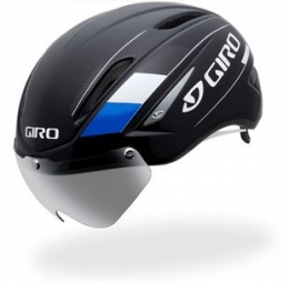 GIRO Helmet AIR ATTACK SHIELD Black Blue
