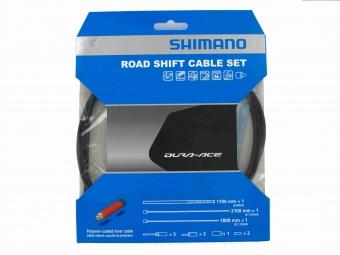 Shimano Dura-Ace 9000 Road Gear Cable Set - Black