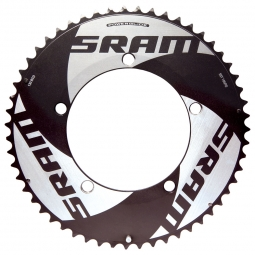 sram plateau route red tt 55 dents 130mm bcd
