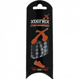 XTENEX Paire de lacets Gris