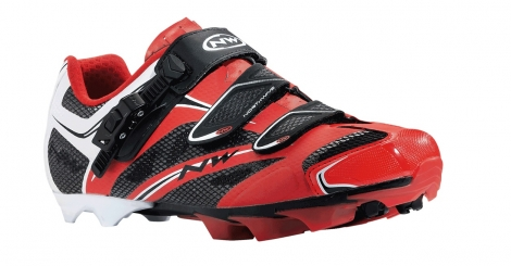 Chaussures VTT Northwave Scorpius Srs Rouge/Noir