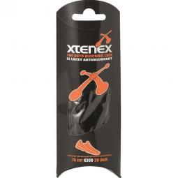 XTENEX Paire de lacets Noir