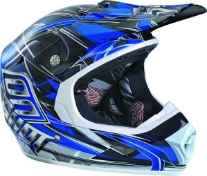 Casco integral Shot FURIOUS SPEED Azul