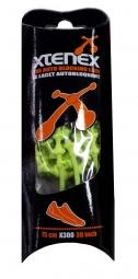 XTENEX Paire de lacets Jaune fluo