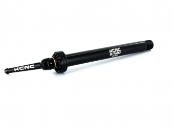 KCNC Front Thru axle 15mm Black
