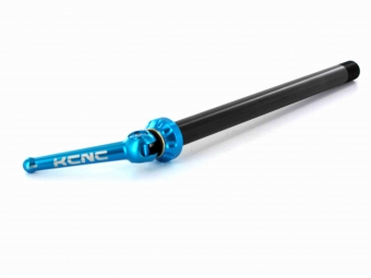 Kcnc axe arriere 12x142mm bleu