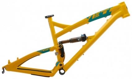 YETI 2014 Frame SB66 Comp 26'' + Rear Shock CTD Kashima Yellow