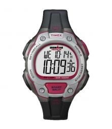 TIMEX Montre IRONMAN Triathlon 50 Noir Rouge