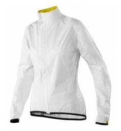 mavic veste impermeable femme oxygen h2o blanc s