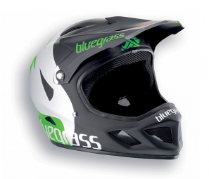 casque integral bluegrass brave vert xl 60 62 cm