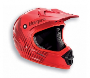 casque integral bluegrass intox rouge m 56 58 cm