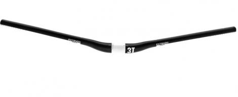3T Cintre EXTENDO PRO 31.8x740mm Réhausse 12mm Noir Blanc