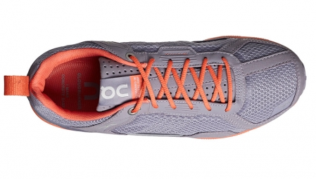 on running cloudrunner gris orange femme 38