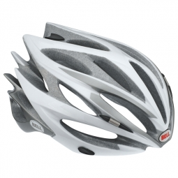 Casco Bell SWEEP Blanco Plateado
