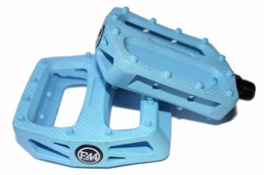 FOCALE44 Paire de Pédales Plastique Bleu