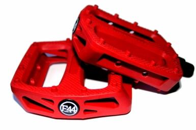 FOCALE44 Pédales Plastique Rouge