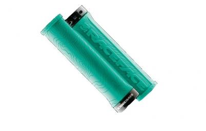 RACE FACE Paire de  Grips HALF NELSON Turquoise