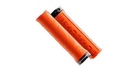 race face paire de grips half nelson orange