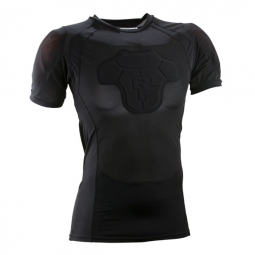 maillot de protection race face flank core d3o noir l