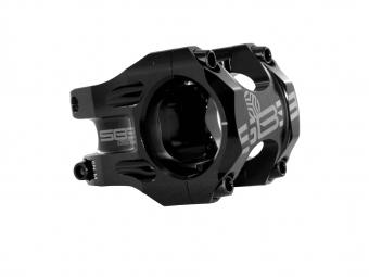 Attacco manubrio SB3 BURLY 31.8 mm Nero Bianco