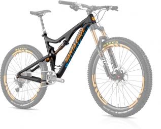 SANTA CRUZ 2014 Frameset Bronson Carbon 27.5'' Fox CTD Kashima 150mm Orange