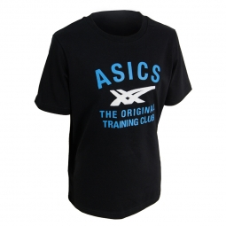 Tee shirt manches courtes asics printed tee junior enfant 128 cm