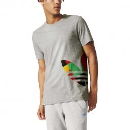 Tee shirt mode adidas originals mosaic tee xl