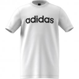 Tee shirt manches courtes adidas performance linear tee 11 12 ans