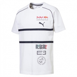 Tee shirt a manches courtes puma red bull racing speedcat evo tee f1 l